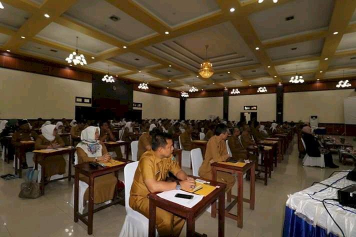 BKPSDM Kota Padang Tingkatkan Kemampuan Aparatur Menyusun SKP